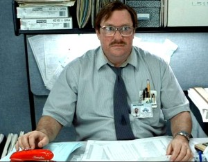 Sometimes you just want your stapler.